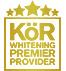 KOR Whitening Premier Provider logo