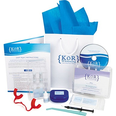 KoR teeth whitening take home kit