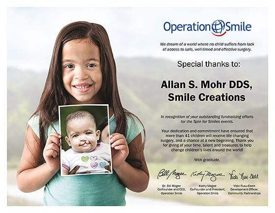 Operation smile flyer